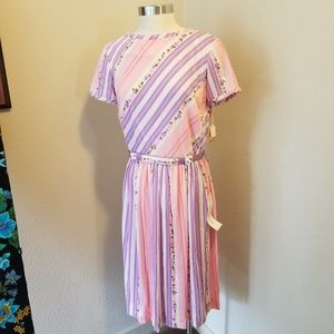 Vintage new old stock Toni Todd 1960 spring dress